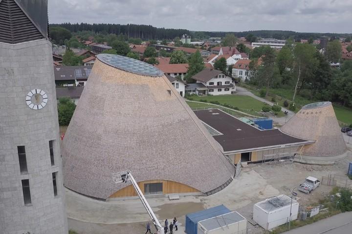 Ökologisch: Spektakuläre neue Kirche aus Holz – Architekt Eberhard Wimmer im Interview